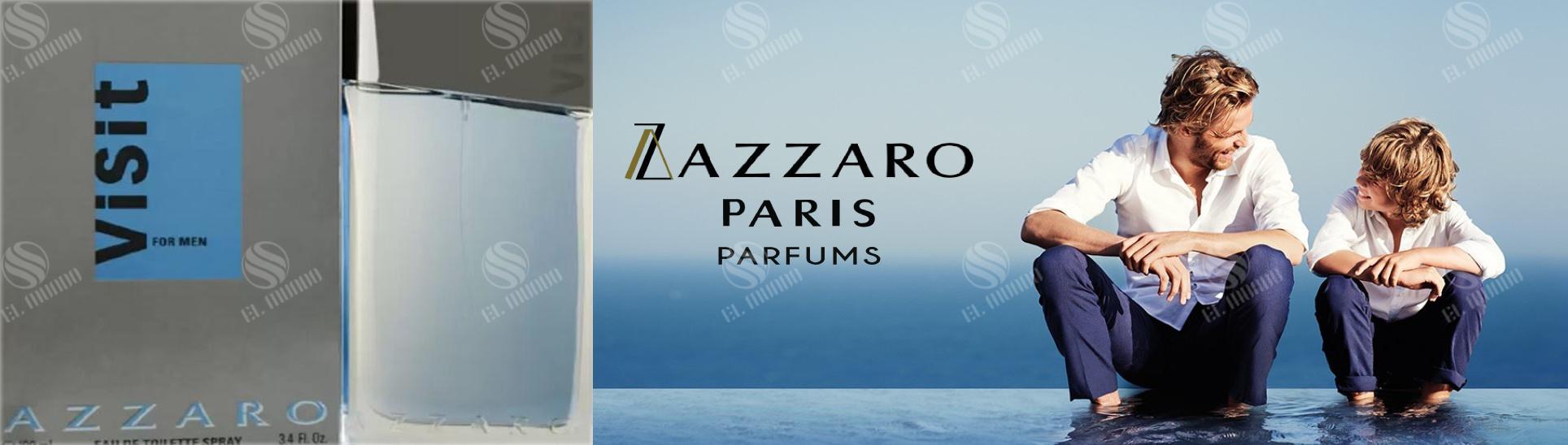 Azzaro Perfume Banner - عطر ادکلن مردانه آزارو ویزیت ادوتویلت ۱۰۰ میل Visit For Men