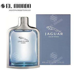 عطر ادکلن مردانه جگوار کلاسیک آبی ادوتویلت ۱۰۰میل Jaguar Classic Blue