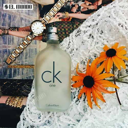 ادوتویلت مردانه کلوین کلاین مدل CK ONE - عطر ادکلن مردانه کلوین کلاین سی کی وان ادوتویلت ۱۰۰ میل CK One Calvin Klein