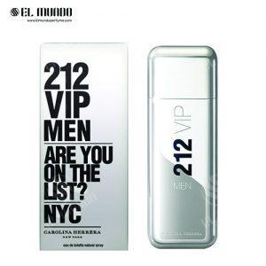 عطر ادکلن مردانه کارولینا هررا ۲۱۲ وی ای پی ادوتویلت ۱۰۰ میل VIP 212 for men