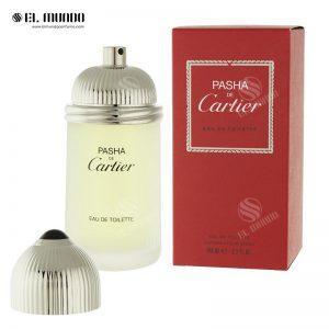 عطر ادکلن مردانه کارتیر پاشا ادوتویلت ۱۰۰میل Pasha De Cartier