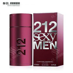 عطر ادکلن مردانه کارولینا هررا مدل سکسی ادوتویلت ۱۰۰ میل Sexy Men Carolina Herrera 212