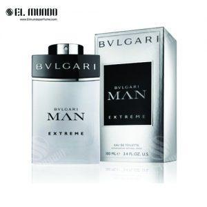 عطر ادکلن مردانه بولگاری مدل من اکستریم ادوتویلت ۱۰۰ میل Man Extreme
