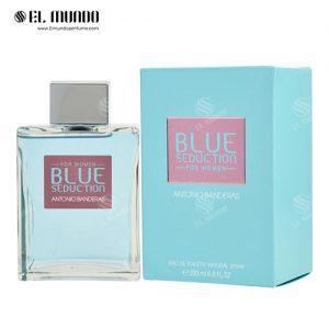 عطر ادکلن زنانه آنتونیو باندراس بلو سداکشن ادو تویلت ۲۰۰ میل Blue Seduction