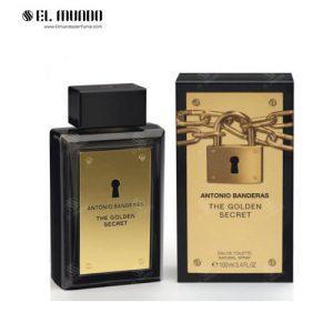 عطر ادکلن مردانه انتونیو باندراس د گولدن سکریت ادوتویلت ۱۰۰ میل The Golden Secret