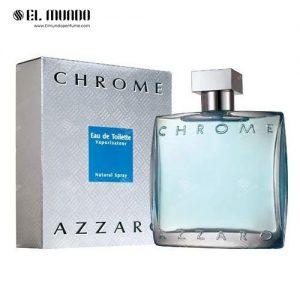 عطر ادکلن مردانه آزارو کروم ادوتویلت ۱۰۰ میل Chrome Azzaro