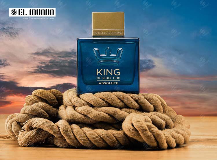 King of Seduction Absolute 100 ml - عطر ادکلن مردانه انتونیو باندراس کینگ آف سداکشن ابسلوت ادوتویلت ۱۰۰ میل King of Seduction Absolute