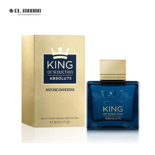 عطر ادکلن مردانه انتونیو باندراس کینگ آف سداکشن ابسلوت ادوتویلت ۱۰۰ میل King of Seduction Absolute