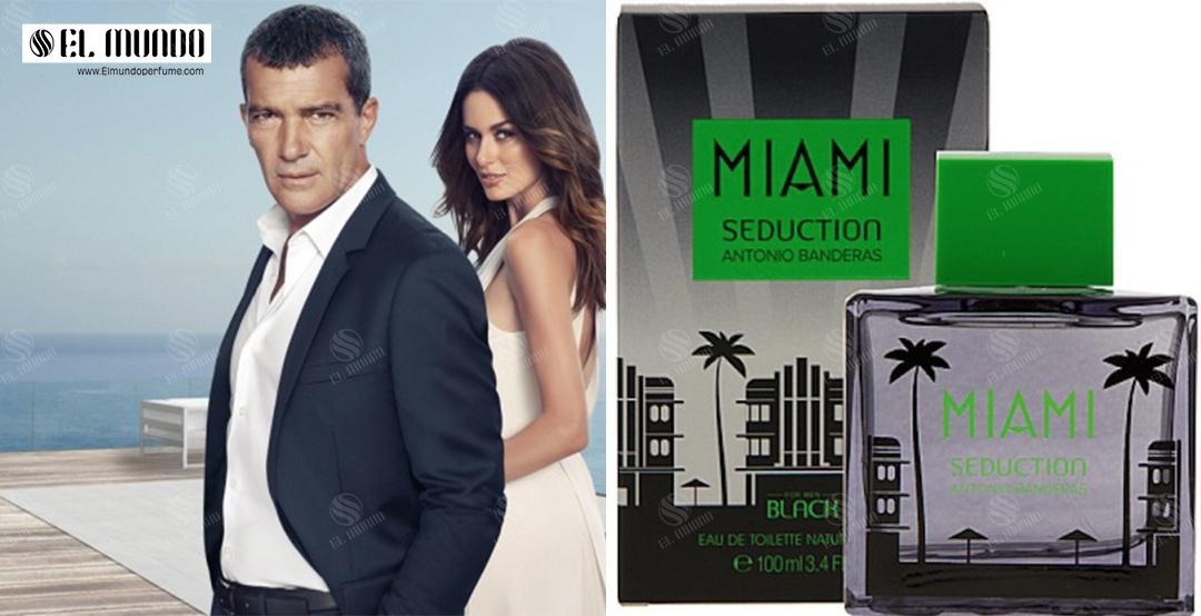 Miami Seduction In Black Antonio Banderas for men 1 - عطر ادکلن مردانه آنتونیو باندراس بلک میامی سداکشن ادو تویلت ۱۰۰ میل Miami Seduction In Black