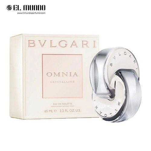 عطر و ادکلن زنانه بولگاری کریستال لاین ادوتویلت ۶۵ میل Omnia Crystalline Bvlgari