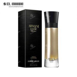 عطر ادکلن مردانه جورجیو آرمانی کد ابسولو ادوپرفیوم ۱۱۰ میل Armani Code Absolu