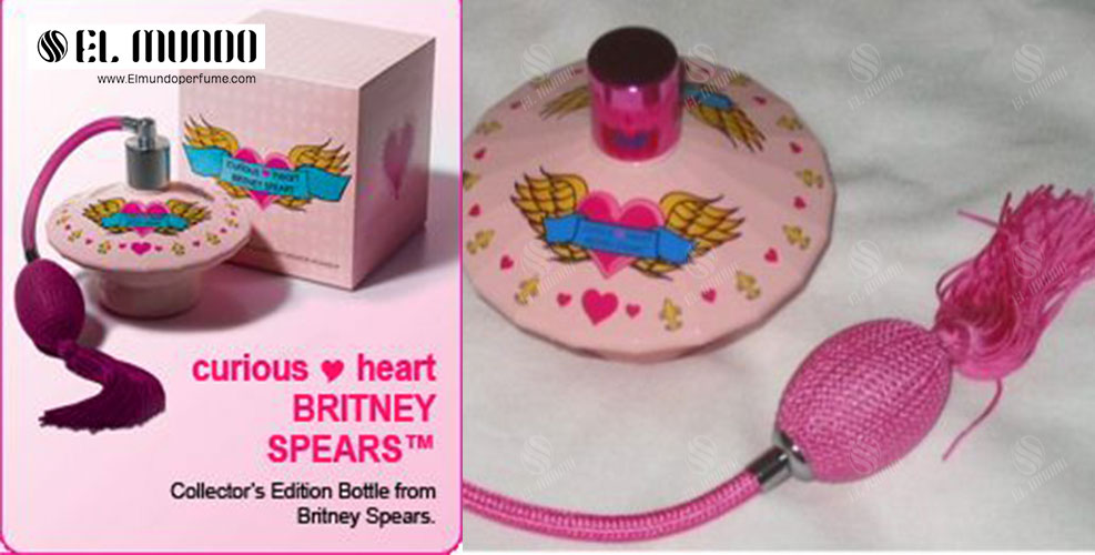 Curious Heart Britney Spears for women 2 - عطر ادکلن زنانه بریتنی اسپیرز کوریوز هارت ادوپرفیوم ۱۰۰میل Curious Heart Britney Spears