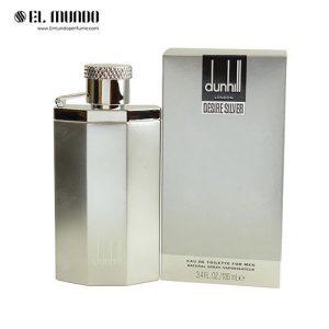 عطر ادکلن مردانه دانهیل دیزایر سیلور ادوتویلت ۱۰۰ میل Dunhill Desire Silver