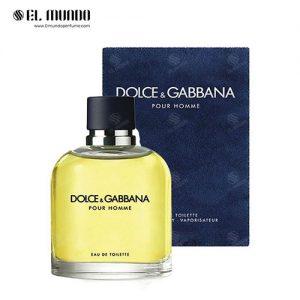 عطر ادکلن مردانه دلچه گابانا پورهوم ادوتویلت ۱۰۰ میل Dolce&Gabbana Pour Homme