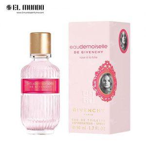 عطر ادکلن زنانه جیوانچی ادوموزل رز ای لا فولی ادوتویلت ۵۰ میل Eaudemoiselle Rose a la Folie