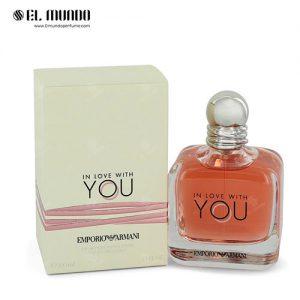 عطر ادکلن زنانه جورجیو آرمانی امپریو آرمانی این لاو ویت یو ادوپرفیوم ۱۰۰ میل Emporio Armani In Love With You