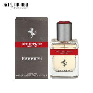 عطر ادکلن مردانه فراری رد پاور اینتنس ادوتویلت ۴۰ میل Red Power Intense Ferrari
