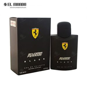 عطر ادکلن مردانه فراری مشکی-اسکودریا بلک ادوتویلت ۱۲۵ میل Scuderia Ferrari Black