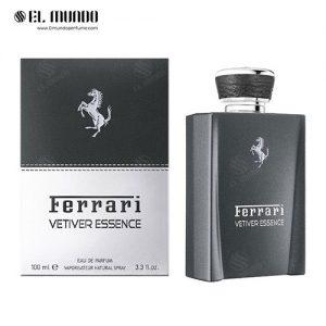 عطر ادکلن مردانه فراری وتیور اسنس ادوپرفیوم ۱۰۰ میل Vetiver Essence Ferrari