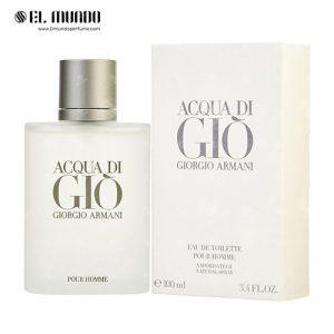 عطر ادکلن مردانه جورجیو آرمانی آکوا دی جیو ادوتویلت ۱۰۰ میل Acqua di Gio Giorgio Armani