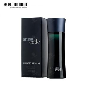 عطر ادکلن مردانه جورجیو آرمانی کد ادوتویلت ۷۵ میل Giorgio Armani Armani Code