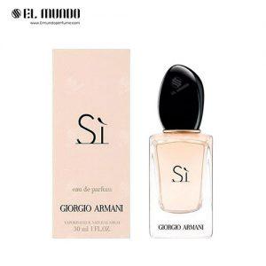 عطر ادکلن زنانه جورجیو آرمانی سی ادوپرفیوم ۳۰ میل Si Eau de Parfum