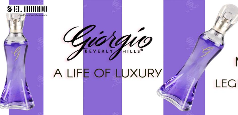 Giorgio Beverly Hills Eau De Parfum For Women 90ml - عطر ادکلن زنانه جورجیو بورلی هیلز جی ادوپرفیوم ۹۰ میل G Giorgio Beverly Hills