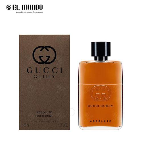عطر ادکلن مردانه گوچی گیلتی ابسولوت ادوپرفیوم ۵۰ میل Gucci Guilty Absolute