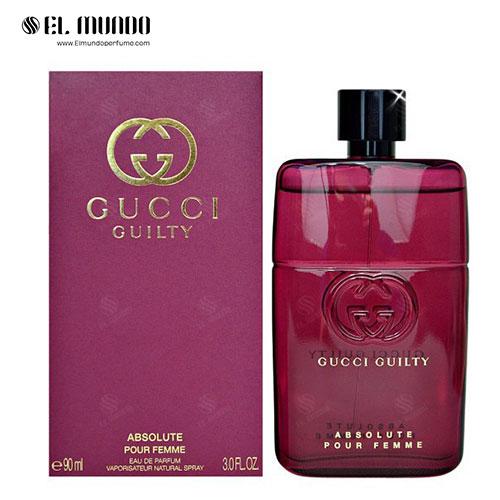 عطر ادکلن زنانه گوچی گیلتی ابسولوت ادوپرفیوم ۹۰ میل Gucci Guilty Absolute pour Femme