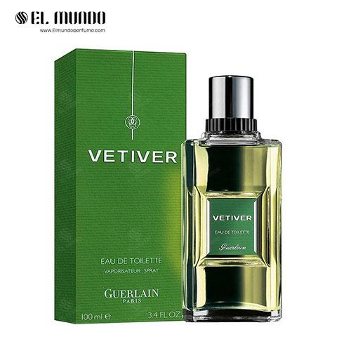 عطر ادکلن مردانه گرلن وتیور ادوتویلت ۱۰۰ میل Vetiver Guerlain