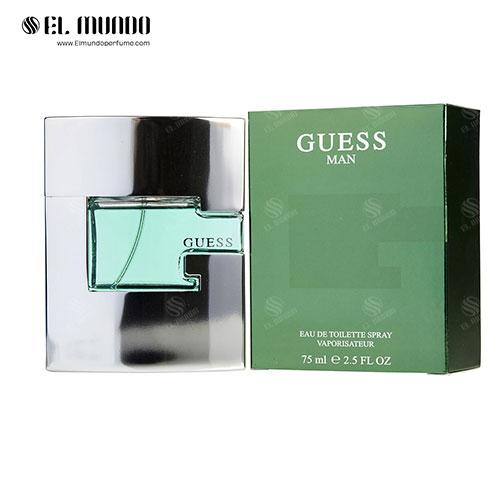 عطر ادکلن مردانه گس گرین ( سبز ) ادوتویلت ۷۵ میل Guess Man