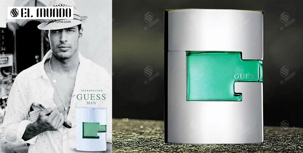 Guess Guess Man Eau de Toilette For Men 75ml - عطر ادکلن مردانه گس گرین ( سبز ) ادوتویلت ۷۵ میل Guess Man
