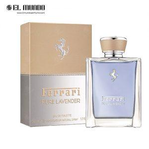 عطر ادکلن فراری پیور لاوندر ادو تویلت ۵۰ میل Pure Lavender Ferrari
