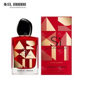 عطر ادکلن زنانه جورجیو آرمانی سی لیمیتد ادوپرفیوم ۱۰۰ میل Sì Passione Limited Edition