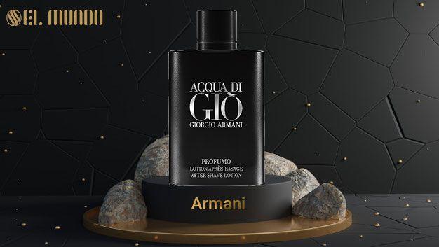 giorgio armani acqua di gio profumo parfum for men 100ml 2 - عطر ادکلن مردانه جورجیو آرمانی آکوا دی جیو پروفومو ۱۲۵ میل Acqua di Gio Profumo