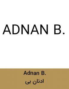 Adnan B 231x300 - برند