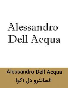 Alessandro Dell Acqua 231x300 - برند