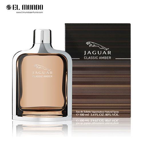 عطر ادکلن مردانه جگوار کلاسیک امبر ادوتویلت ۱۰۰ میل Classic Amber Jaguar