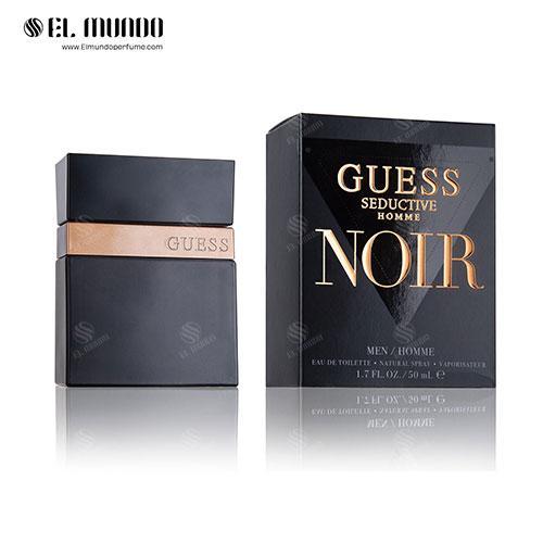 عطر ادکلن مردانه گس سداکتیو نویر ادوتویلت ۱۰۰ میل Guess Seductive Noir Homme