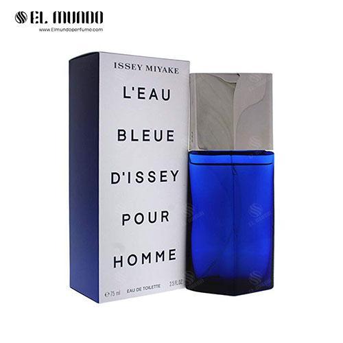 عطر ادکلن مردانه ایسی میاکه لئو بلو د ایسه پور هوم ادوتویلت ۷۵ میل L'Eau Bleue d'Issey Pour Homme