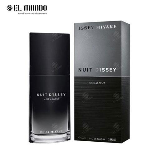 عطر ادکلن مردانه ایسی میاکه نویت د ایسه نویر آرجنت ادوپرفیوم ۱۰۰ میل Nuit D'Issey Noir Argent