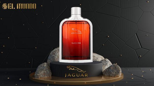 Jaguar Classic Red Jaguar for men 100ml 4 - عطر ادکلن مردانه جگوار کلاسیک رد-قرمز ادوتویلت ۱۰۰ میل Jaguar Classic Red