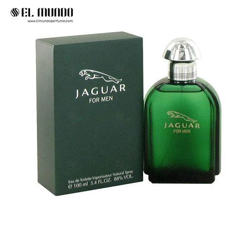 عطر ادکلن مردانه جگوار سبز ادوتویلت ۱۰۰ میل Jaguar for Men