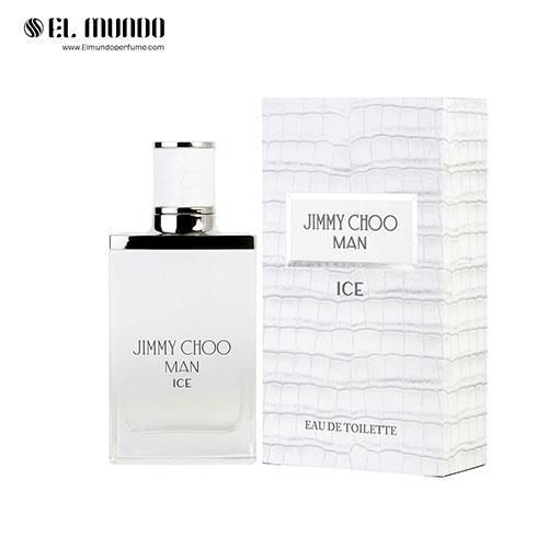 عطر ادکلن مردانه ادکلن جیمی چو من آیس ادوتویلت ۵۰ میل Jimmy Choo Man Ice