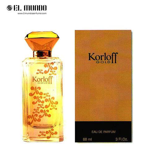 عطر ادکلن زنانه کورلوف پاریس گلد ادوپرفیوم ۸۸ میل Korloff Gold Korloff Paris for women