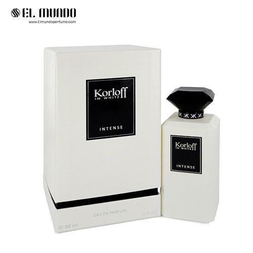 عطر ادکلن مردانه کورلوف پاریس سفید اینتنس ادوتویلت ۸۸ میل Korloff In White Intense Korloff Paris for men