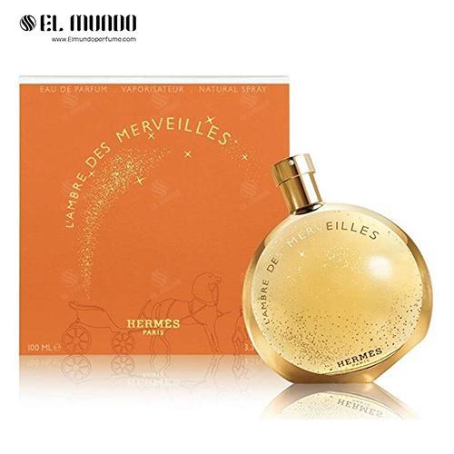 عطر ادکلن هرمس آمبر مرولیس ادوپرفیوم ۱۰۰ میل L'Ambre des Merveilles Hermès