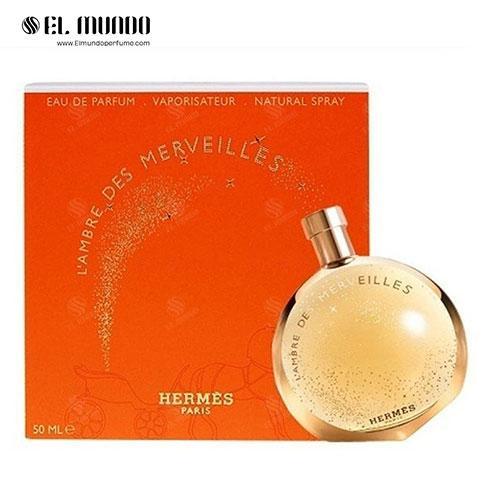 عطر ادکلن هرمس آمبر مرولیس ادوپرفیوم ۵۰ میل L'Ambre des Merveilles Hermès