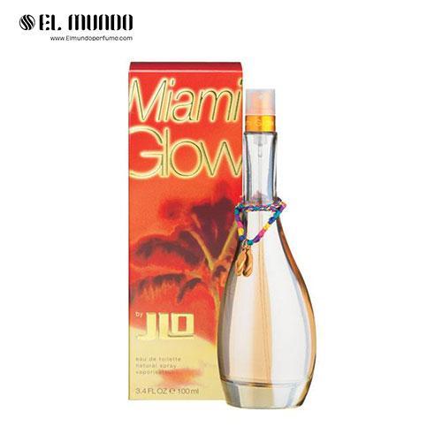 عطر ادکلن زنانه جنیفر لوپز گلو میامی ادوتویلت ۱۰۰ میل Miami Glow Jennifer Lopez