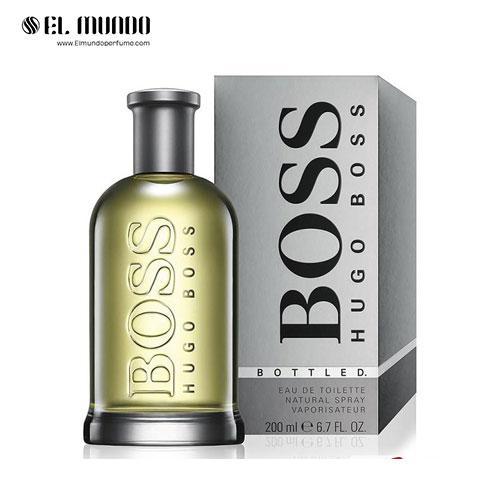 عطر ادکلن مردانه هوگو بوس باتلد- هوگو بوس نامبر ۶ ادوتویلت ۲۰۰ میل Boss Bottled Hugo Boss